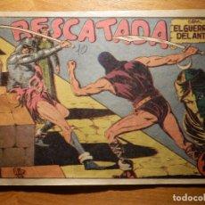 Tebeos: TEBEO - COMIC - EL GUERRERO DEL ANTIFAZ - Nº 59 - RESCATADA - VALENCIANA. Lote 157005766