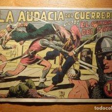 Tebeos: TEBEO - COMIC - EL GUERRERO DEL ANTIFAZ - Nº 80 - LA AUDACIA DEL GUERRERO - VALENCIANA. Lote 157007374