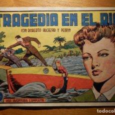 Tebeos: TEBEO - COMIC - TRAJEDIA EN EL RIO - Nº 183 - ROBERTO ALCAZAR Y PEDRIN - VALENCIANA. Lote 157008386