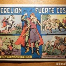 Tebeos: TEBEO - COMIC - REBELIÓN EN EL FUERTE COSH - Nº 184 - ROBERTO ALCAZAR Y PEDRIN - VALENCIANA. Lote 157008706