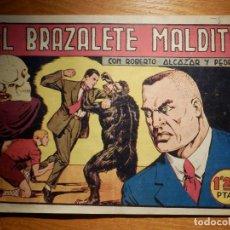 Tebeos: TEBEO - COMIC - EL BRAZALETE MALDITO - Nº 122 - ROBERTO ALCAZAR Y PEDRIN - VALENCIANA. Lote 157009118