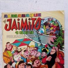 Tebeos: ALMANAQUE DE JAIMITO 1969 - MUY BIEN CONSERVADO. Lote 157116590