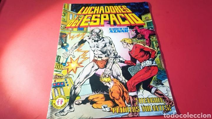 CASI EXCELENTE ESTADO SECCION AVENTURA 74 LUCHADORES DEL ESPACIO EDITORIAL VALENCIANA (Tebeos y Comics - Valenciana - Selección Aventurera)