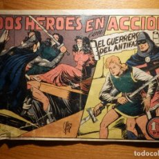 Tebeos: TEBEO - COMIC - EL GUERRERO DEL ANTIFAZ - Nº 78 - DOS HEROES EN ACCIÓN - VALENCIANA. Lote 157650090
