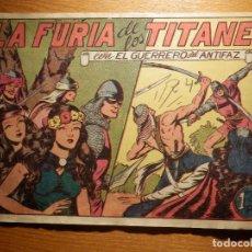 Tebeos: TEBEO - COMIC - EL GUERRERO DEL ANTIFAZ - Nº 92 - LA FURIA DE LOS TITANES - VALENCIANA. Lote 157650682