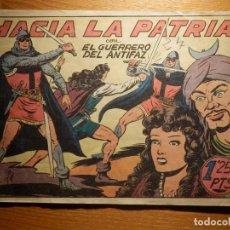 Tebeos: TEBEO - COMIC - EL GUERRERO DEL ANTIFAZ - Nº 95 - HACÍA LA PATRIA - VALENCIANA. Lote 157650838