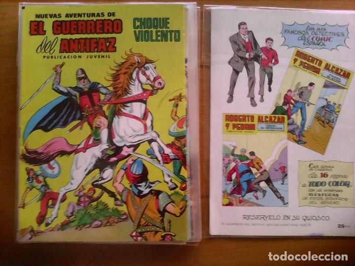 NUEVAS AVENTURAS DEL GUERRERO DEL ANTIFAZ. Nº 38 (Tebeos y Comics - Valenciana - Guerrero del Antifaz)