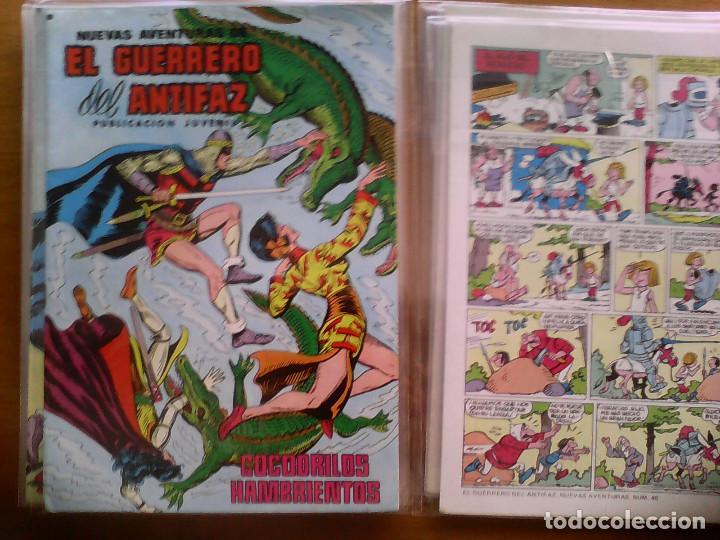 NUEVAS AVENTURAS DEL GUERRERO DEL ANTIFAZ. Nº 42 (Tebeos y Comics - Valenciana - Guerrero del Antifaz)
