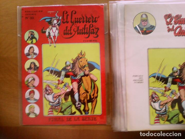 EL GUERRERO DEL ANTIFAZ. SERIE INÉDITA Nº 30 (Tebeos y Comics - Valenciana - Guerrero del Antifaz)
