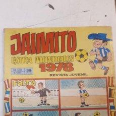 Tebeos: JAIMITO, EXTRA MUNDIALES. . Lote 158207630