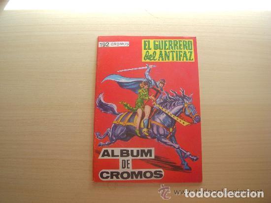 ALBUM DE CROMOS VACÍO EL GUERRERO DEL ANTIFAZ PLANCHA EDITORIAL MAGA (Tebeos y Comics - Valenciana - Guerrero del Antifaz)
