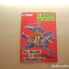 Tebeos: ALBUM DE CROMOS VACÍO EL GUERRERO DEL ANTIFAZ PLANCHA EDITORIAL MAGA. Lote 245007425