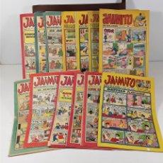 Tebeos: REVISTA JUVENIL JAIMITO. 13 EJEMPLARES. EDIT. VALENCIANA. VALENCIA. 1964/1975.. Lote 158507294