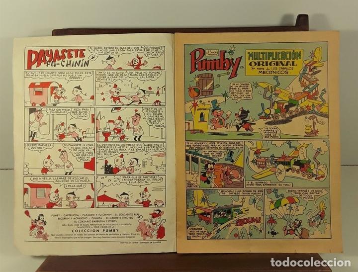 Tebeos: PUBLICACIÓN INFANTIL PUMBY. 8 EJEMPLARES. EDIT. VALENCIANA. VALENCIA. 1958/1970. - Foto 4 - 158629654