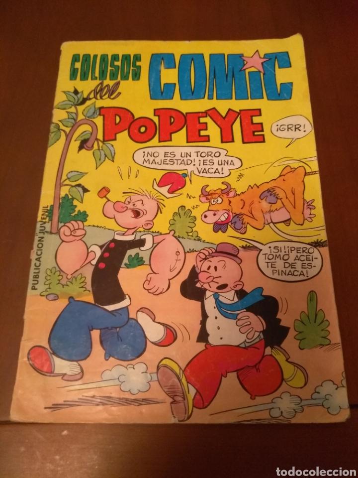 CÓMIC COLOSOS DEL CÓMIC POPEYE N'12(VALENCIANA) (Tebeos y Comics - Valenciana - Colosos del Comic)