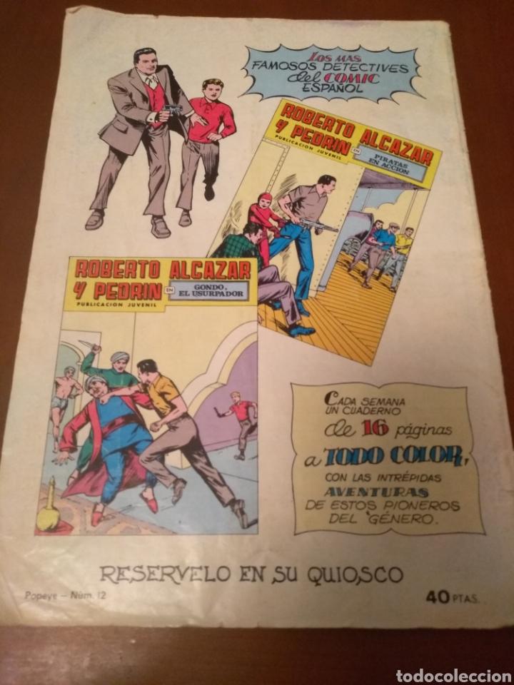 Tebeos: Cómic colosos del cómic Popeye n'12(valenciana) - Foto 7 - 158734428