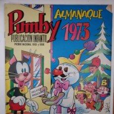Tebeos: PUMBY ALMANAQUE 1973. Lote 158834870
