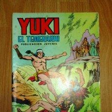 Tebeos: YUKI : EL TEMERARIO. NÚM. 11 : ACCIÓN DECISIVA (SELECCIÓN AVENTURERA EDIVAL). Lote 159343006