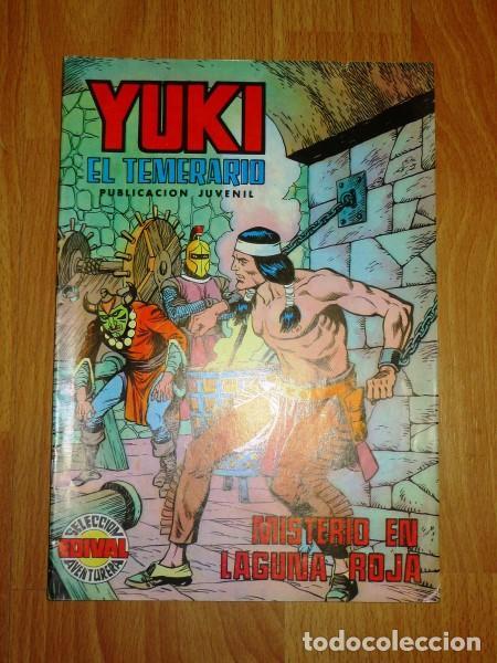 YUKI : EL TEMERARIO. NÚM. 13 : MISTERIO EN LAGUNA ROJA (SELECCIÓN AVENTURERA EDIVAL) (Tebeos y Comics - Valenciana - Selección Aventurera)
