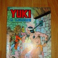 Tebeos: YUKI : EL TEMERARIO. NÚM. 13 : MISTERIO EN LAGUNA ROJA (SELECCIÓN AVENTURERA EDIVAL). Lote 159343074