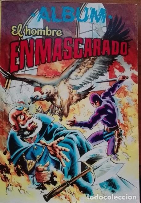 EL HOMBRE ENMASCARADO (THE PHANTOM) ALBUM NºS 27 A 30 EDITORA VALENCIANA 1.979 (Tebeos y Comics - Valenciana - Colosos del Comic)