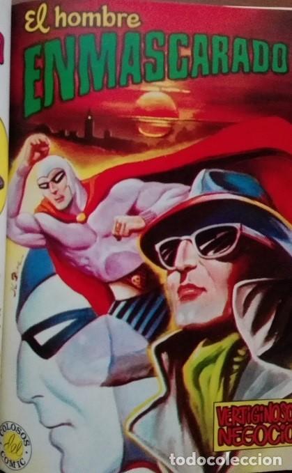 Tebeos: EL HOMBRE ENMASCARADO (The Phantom) Album Nºs 27 a 30 Editora Valenciana 1.979 - Foto 3 - 159346814