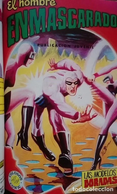Tebeos: EL HOMBRE ENMASCARADO (The Phantom) Album Nºs 27 a 30 Editora Valenciana 1.979 - Foto 4 - 159346814