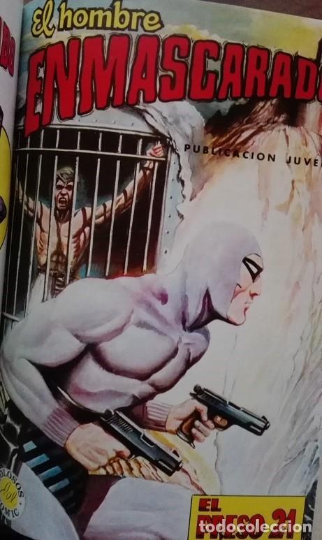 Tebeos: EL HOMBRE ENMASCARADO (The Phantom) Album Nºs 27 a 30 Editora Valenciana 1.979 - Foto 5 - 159346814