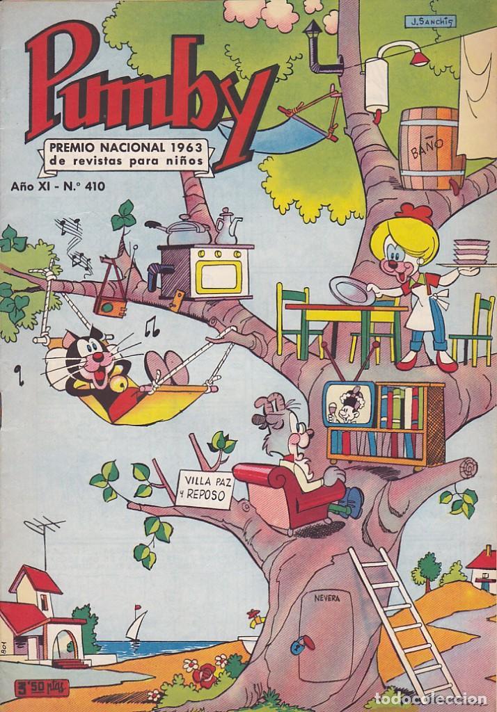 COMIC COLECCION PUMBY Nº 410 (Tebeos y Comics - Valenciana - Pumby)