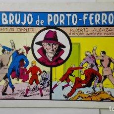 Tebeos: ROBERTO ALCAZAR, Nº 36, EL BRUJO DE PORTO-FERRO, EDITORIAL VALENCIANA, EDICION 1982. Lote 159984658