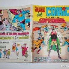 Tebeos: VALENCIANA - COLOSOS DEL COMIC - LA FAMILIA SUPERMAN - EL SECRETO DE LOS OCHO SUPERMAN - Nº5 - 1979. Lote 160209126