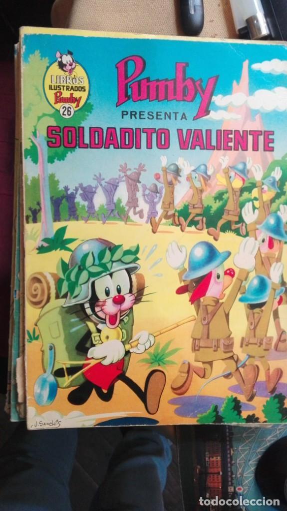 LIBROS ILUSTRADOS PUMBY - Nº 26 - SOLDADITO VALIENTE - VALENCIANA - 1970 (Tebeos y Comics - Valenciana - Pumby)