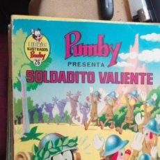 Tebeos: LIBROS ILUSTRADOS PUMBY - Nº 26 - SOLDADITO VALIENTE - VALENCIANA - 1970. Lote 160232166