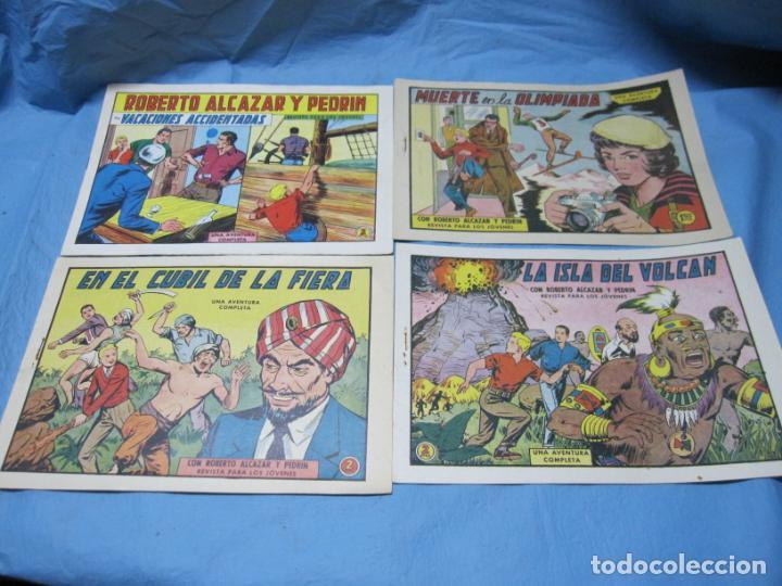 LOTE ROBERTO ALCAZAR Y PEDRIN NUMEROS 507-536-558-725 (Tebeos y Comics - Valenciana - Roberto Alcázar y Pedrín)