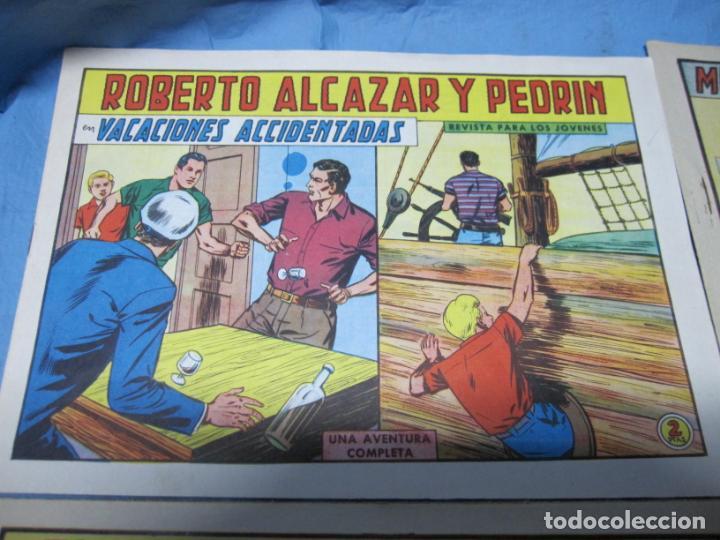 Tebeos: LOTE ROBERTO ALCAZAR Y PEDRIN NUMEROS 507-536-558-725 - Foto 2 - 160319730