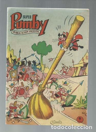 SUPER PUMBY 1, 1963, SEGUNDA SERIE, VALENCIANA, MUY BUEN ESTADO (Tebeos y Comics - Valenciana - Pumby)