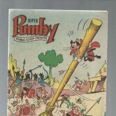 Tebeos: SUPER PUMBY 1, 1963, SEGUNDA SERIE, VALENCIANA, MUY BUEN ESTADO. Lote 160401054