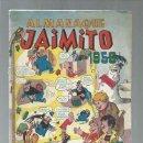 Tebeos: JAIMITO, ALMANAQUE 1956, VALENCIANA, SEÑALES DE USO. Lote 160402238