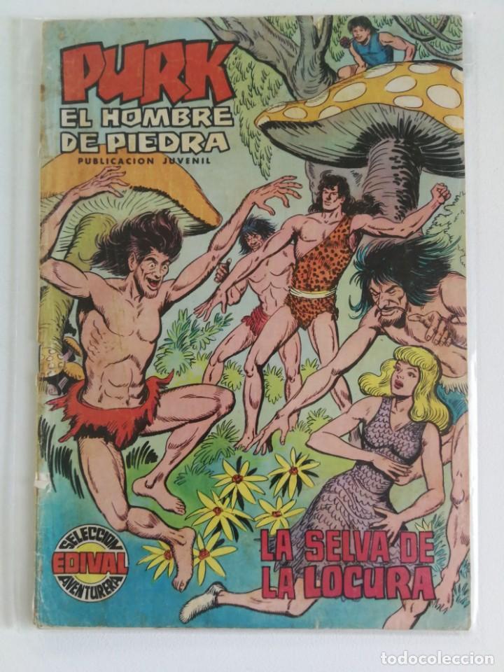 PURK EL HOMBRE DE PIEDRA Nº 53, LA SELVA DE LA LOCURA (EDITORIAL VALENCIANA) (Tebeos y Comics - Valenciana - Purk, el Hombre de Piedra)