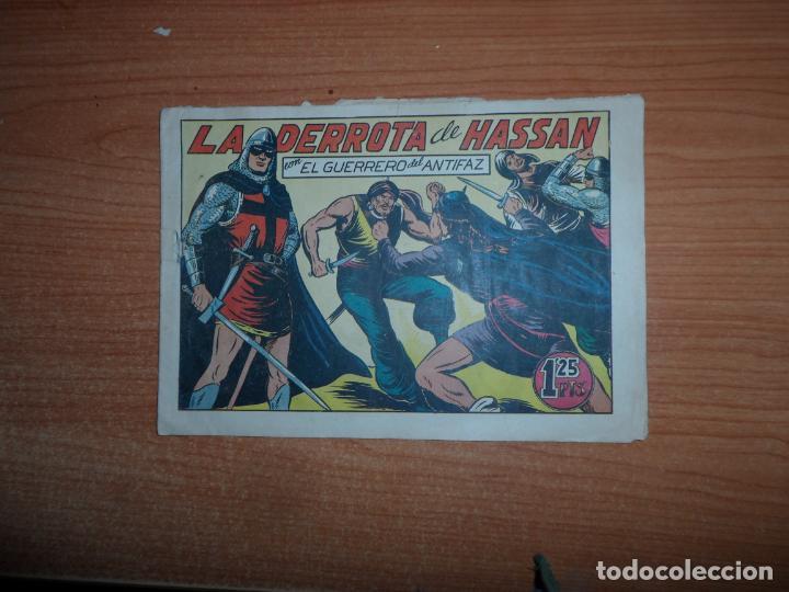 EL GUERRERO DEL ANTIFAZ Nº 111 EDITORIAL VALENCIANA ORIGINAL (Tebeos y Comics - Valenciana - Guerrero del Antifaz)