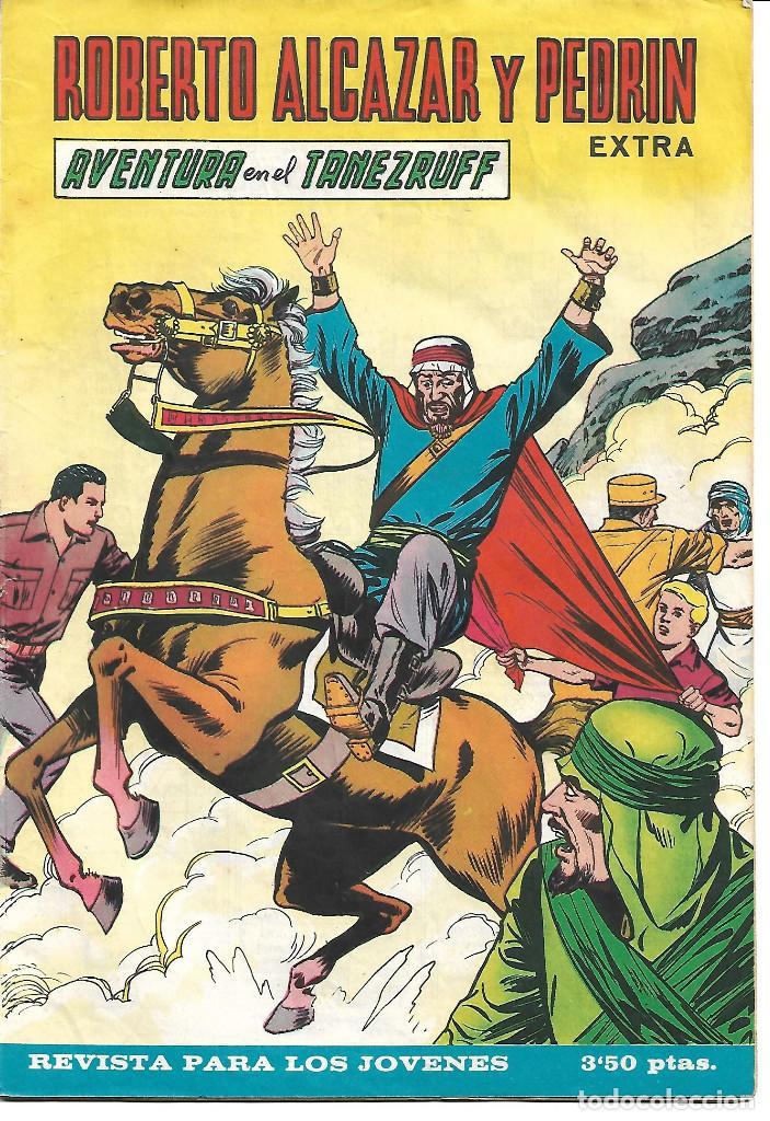 ROBERTO ALCAZAR EXTRA NUM 18 - ORIGINAL (Tebeos y Comics - Valenciana - Roberto Alcázar y Pedrín)