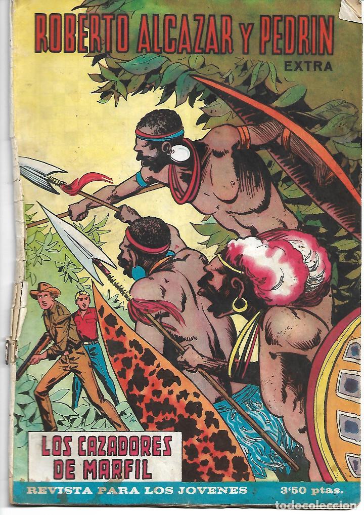 ROBERTO ALCAZAR EXTRA NUM 23 - ORIGINAL (Tebeos y Comics - Valenciana - Roberto Alcázar y Pedrín)
