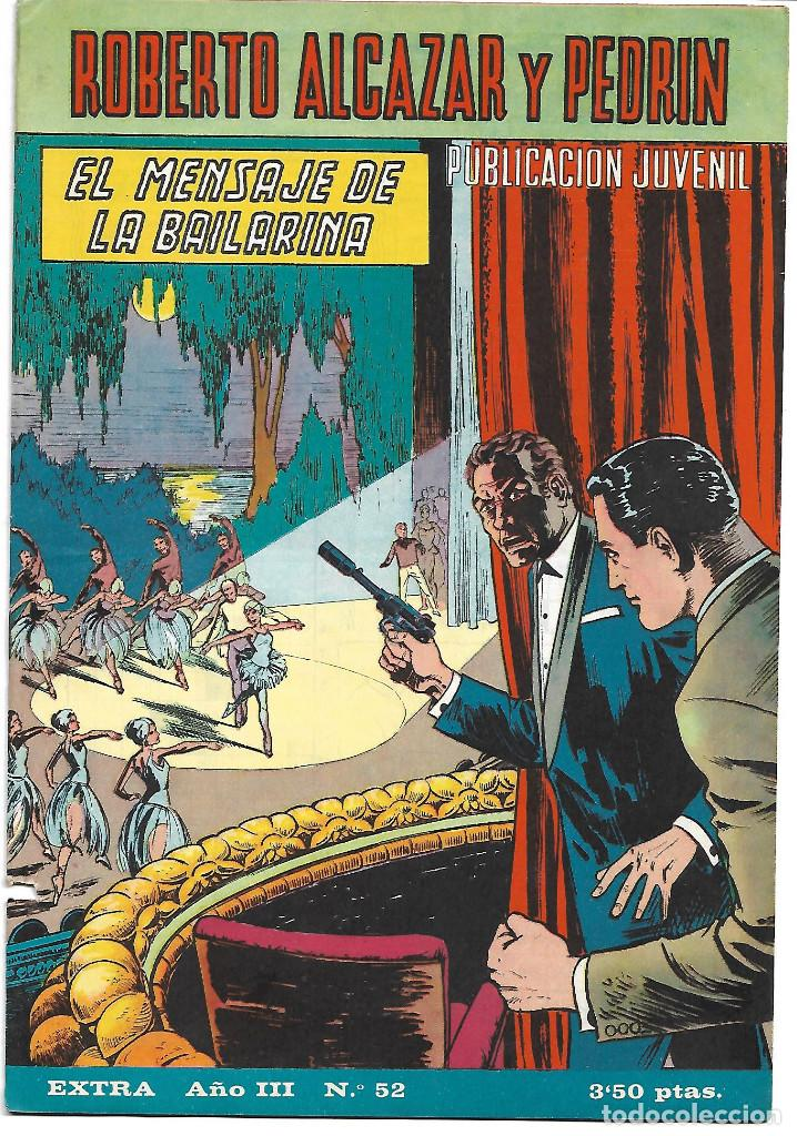 ROBERTO ALCAZAR EXTRA NUM 52 - ORIGINAL (Tebeos y Comics - Valenciana - Roberto Alcázar y Pedrín)