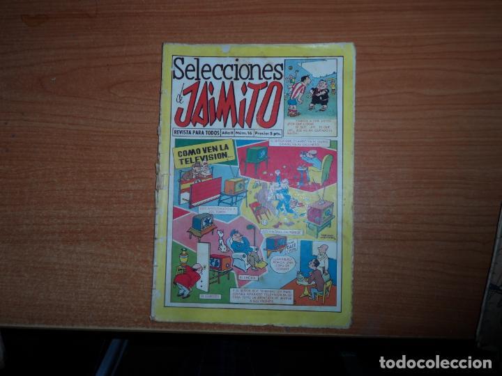 SELECCIONES DE JAIMITO N º 16 EDITORIAL VALENCIANA (Tebeos y Comics - Valenciana - Jaimito)