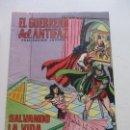 Tebeos: EL GUERRERO DEL ANTIFAZ. Nº 136. SALVANDO LA VIDA. 1975 VALENCIANA CS126. Lote 160658486