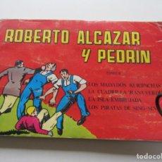 Tebeos: ROBERTO ALCAZAR Y PEDRIN TOMO 6 RETAPADO 4 AVENTURAS COMPLETAS CS140B. Lote 160960914
