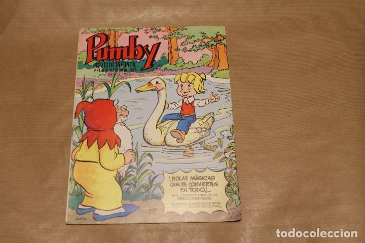 PUMBY Nº 985, EDITORIAL VALENCIANA (Tebeos y Comics - Valenciana - Pumby)