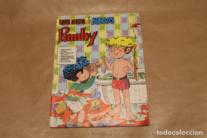 GRAN ALBUM DE JUEGOS PUMBY Nº 21, EDITORIAL VALENCIANA (Tebeos y Comics - Valenciana - Pumby)