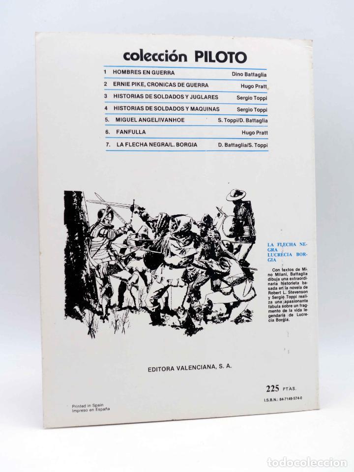 Tebeos: COLECCIÓN PILOTO 6. FANFULLA (Hugo Pratt / Milo Milani) Valenciana, 1983. OFRT - Foto 2 - 172809998