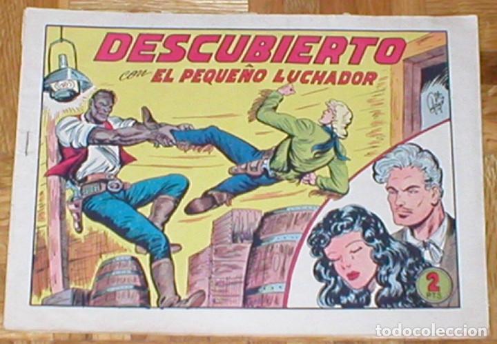 TEBEO EL PEQUEÑO LUCHADOR Nº 204 DESCUBIERTO ORIGINAL 1945 EDITORIAL VALENCIANA RARO MIRA !! (Tebeos y Comics - Valenciana - Pequeño Luchador)
